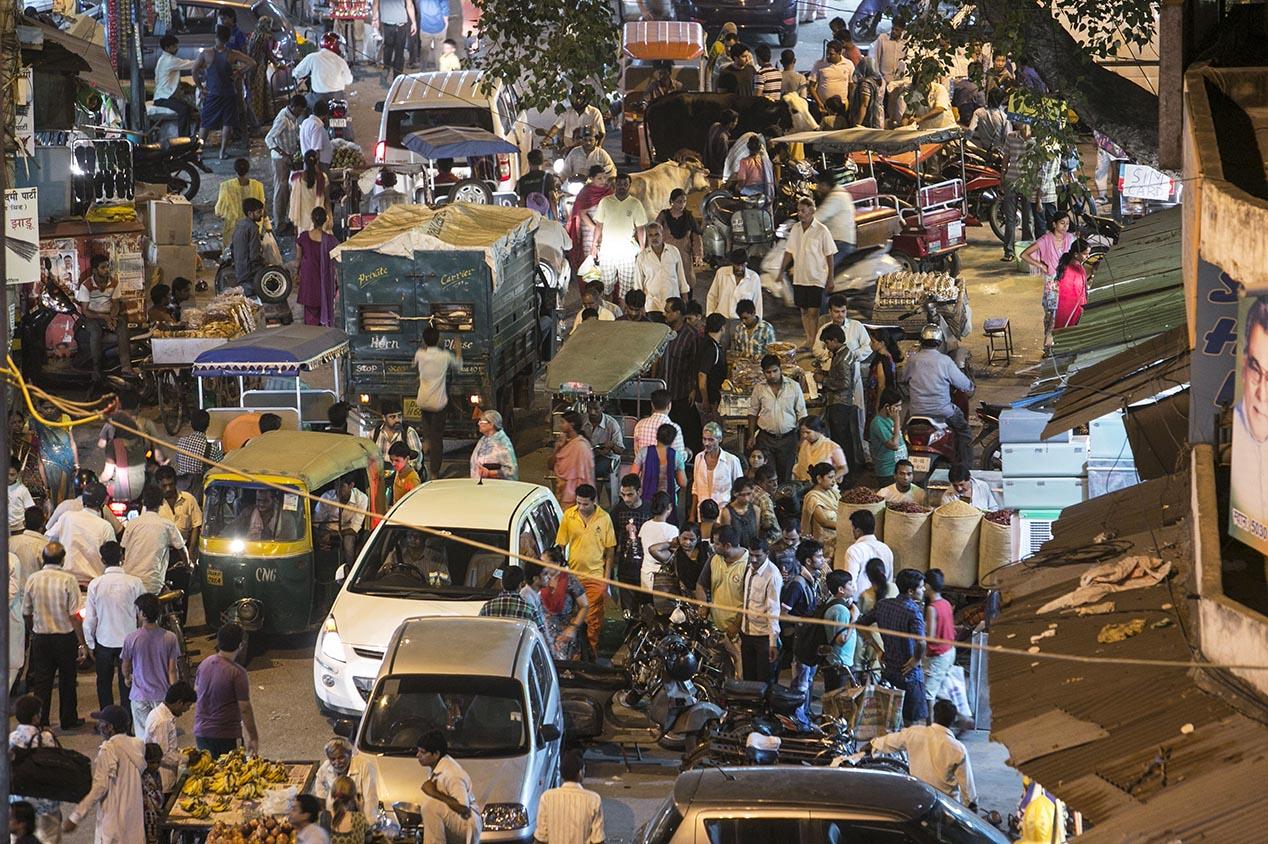 New delhi : No comment à 80cm