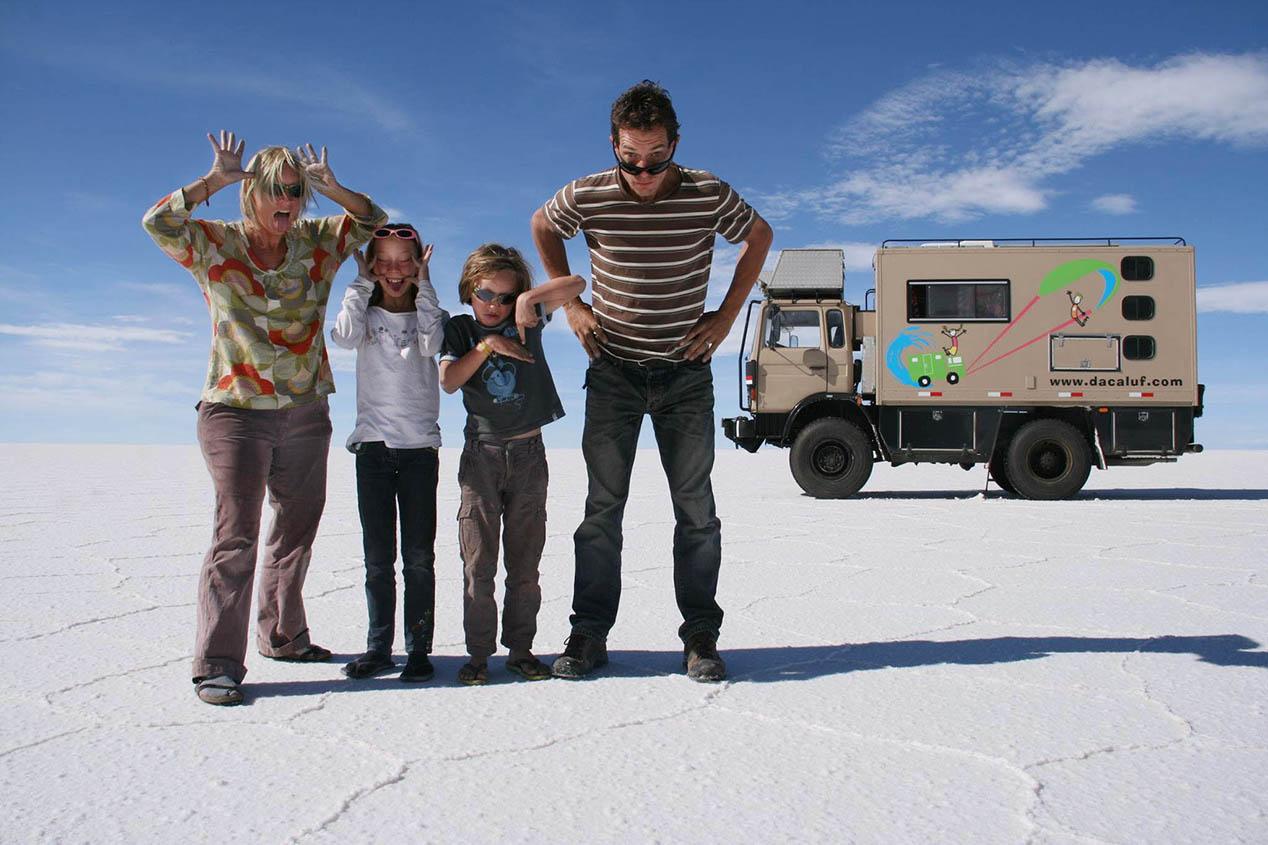 2 ans de voyage en famille dans un camion aménagé
