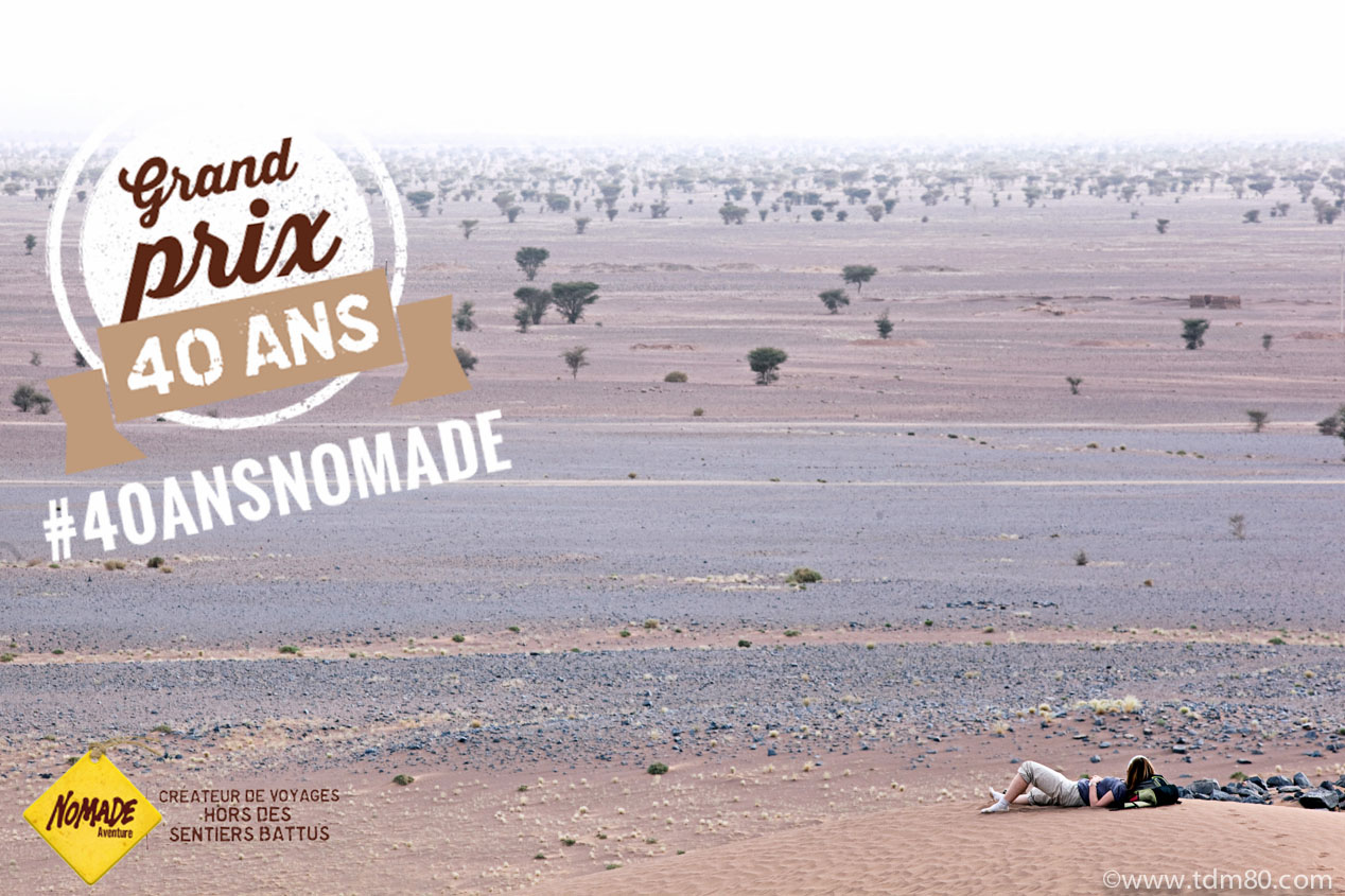 CONCOURS NOMADE AVENTURE #40ANSNOMADE