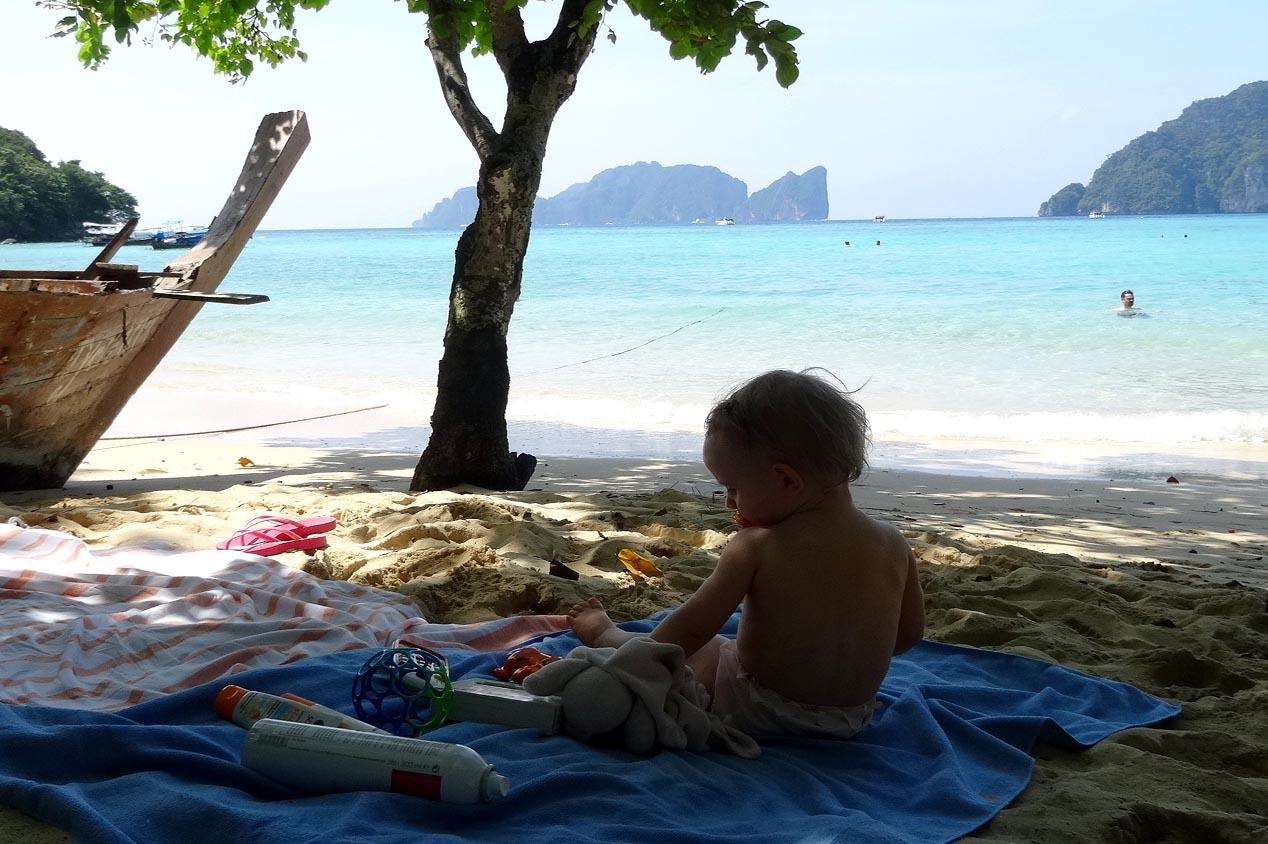 Premier grand voyage avec un bébé de 15 mois en Thailande !