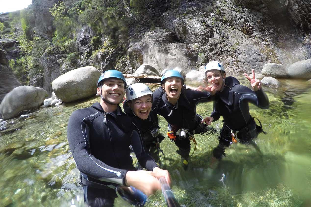 Canyoning en Corse : un bonheur nature