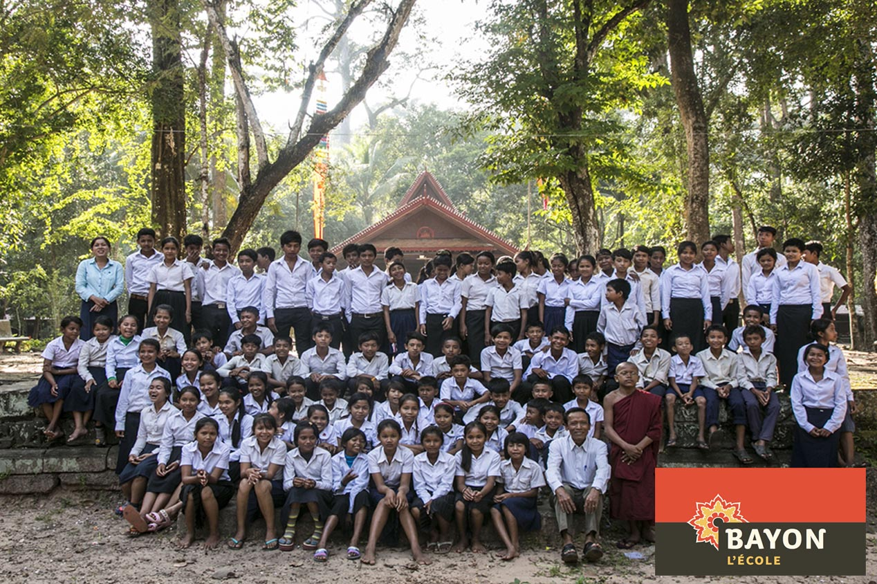 Association au Cambodge : L'école du Bayon