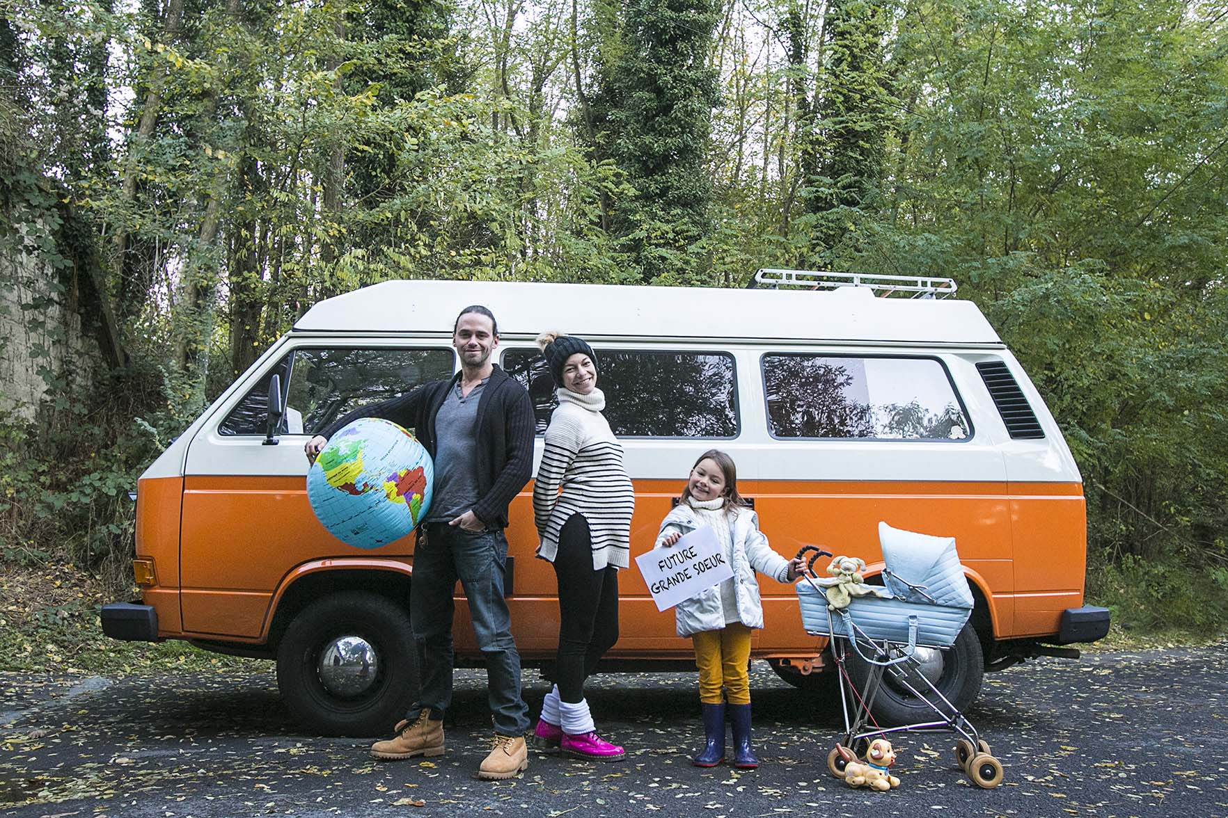 Road trip en famille….
