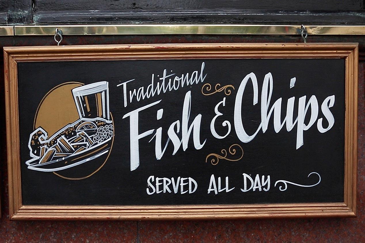 La découverte gastronomique… So British !
