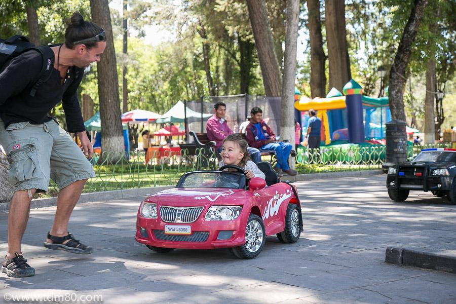 Visiter Sucre avec ses enfants : Le Parc Bolivar