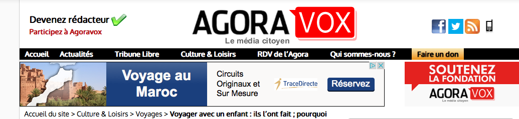 AgoraVox logo
