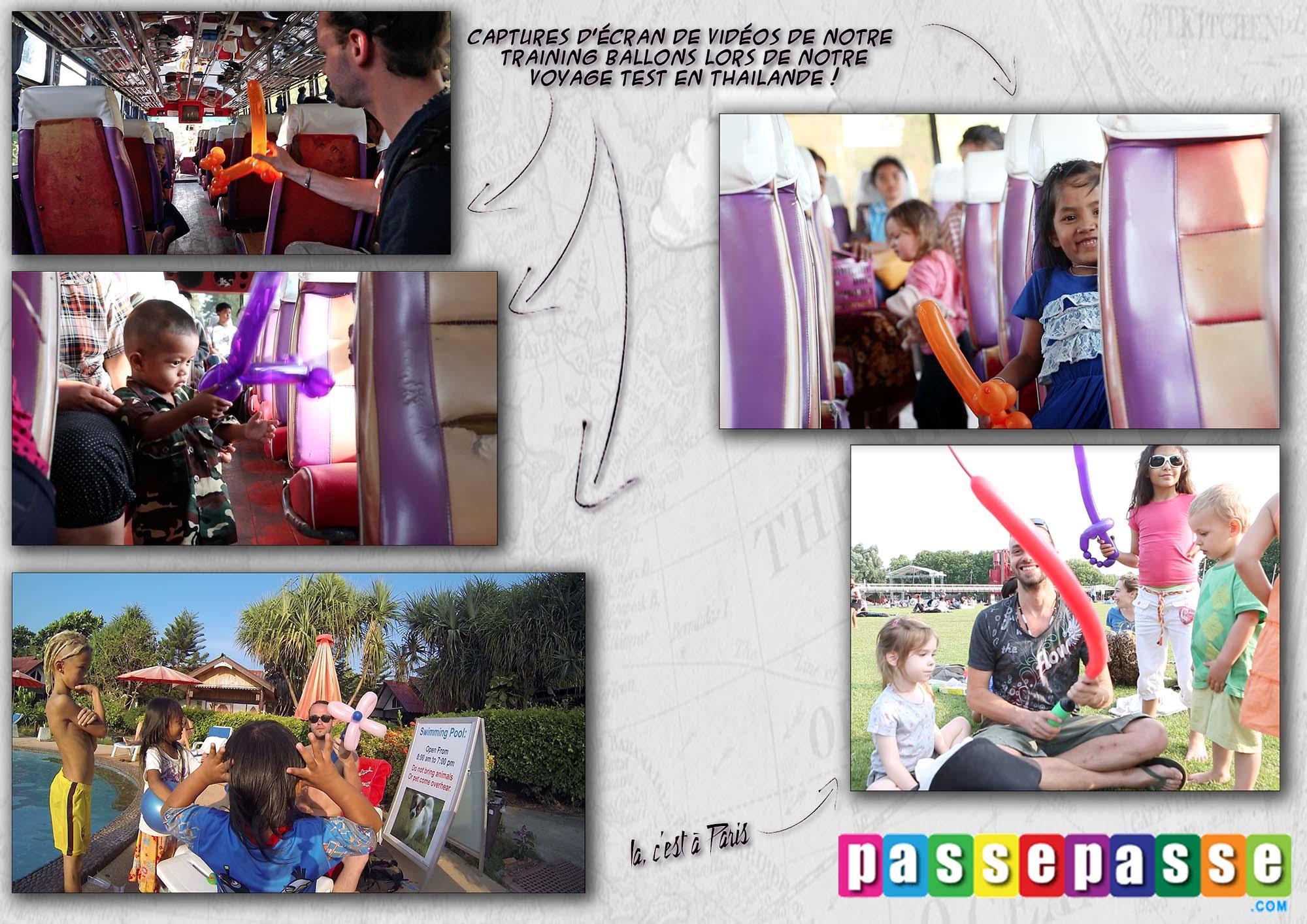 balloon Passe passe
