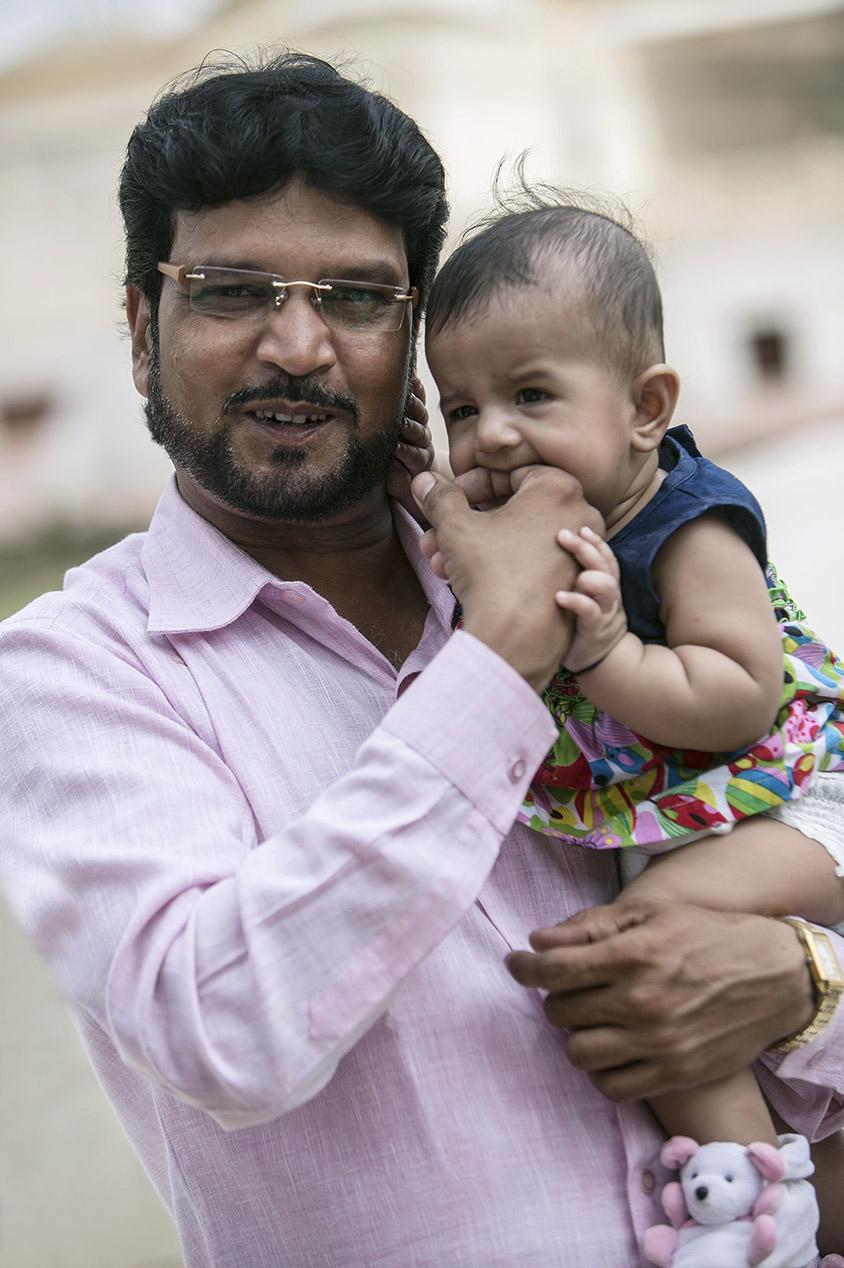 Inde Les papas du monde portraits 1