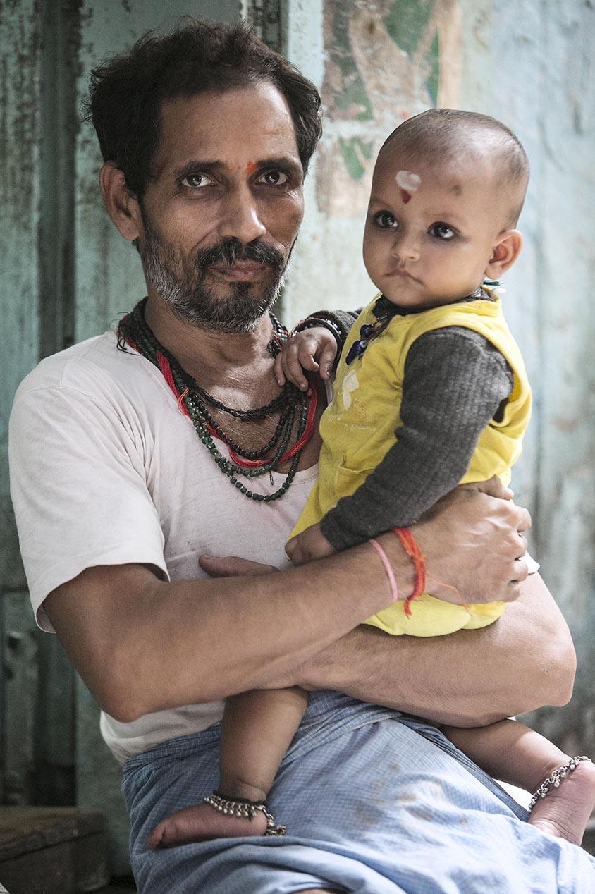 Inde Les papas du monde portraits 5