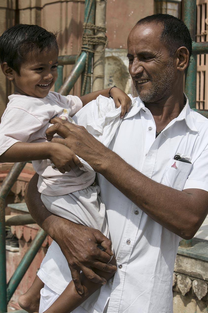 Inde Les papas du monde portraits 6