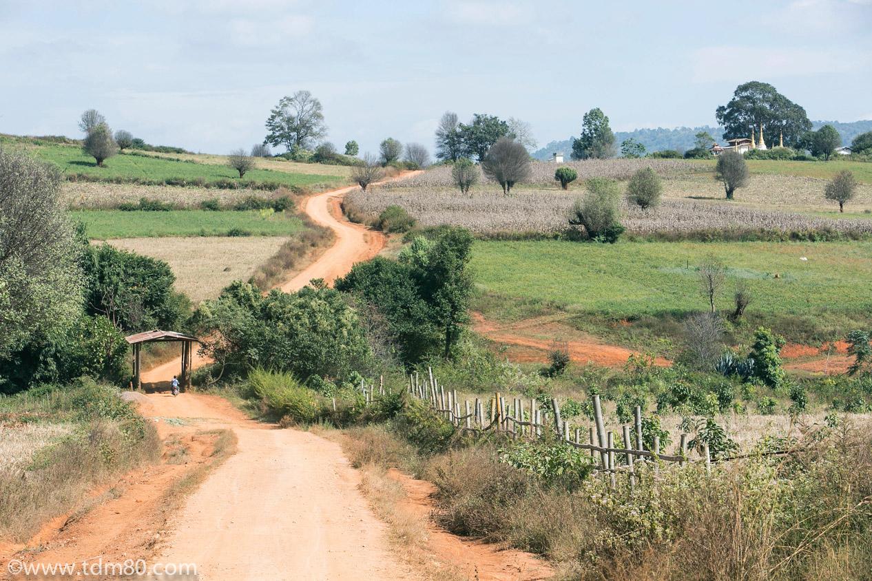 tdm80_Birmanie_Kalaw_Lac_Inley_Trek_51