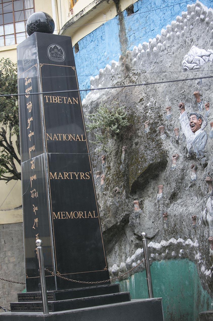 Mc Leod ganj monument mort