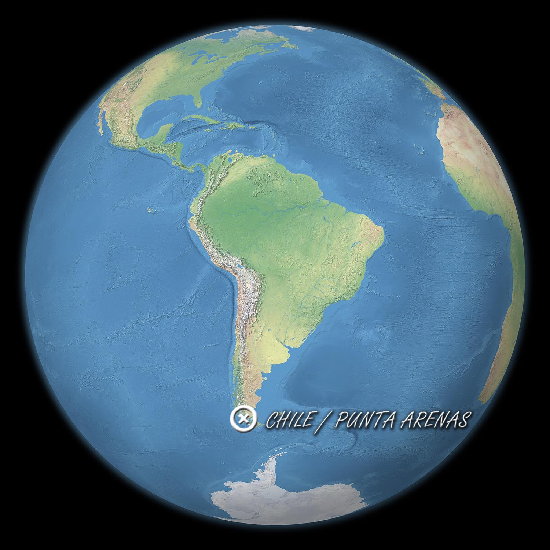 MAP CHILE P-ARENAS pour article