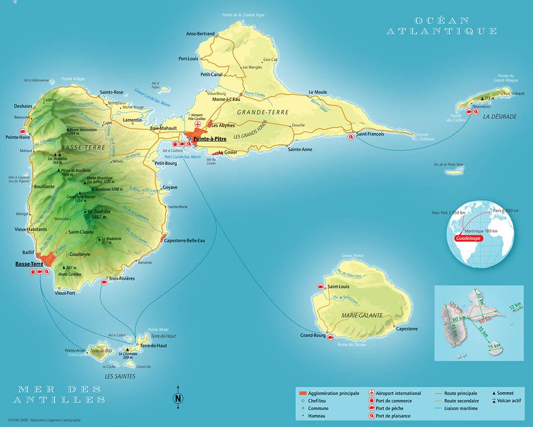 Malgre Ville De La Guadeloupe