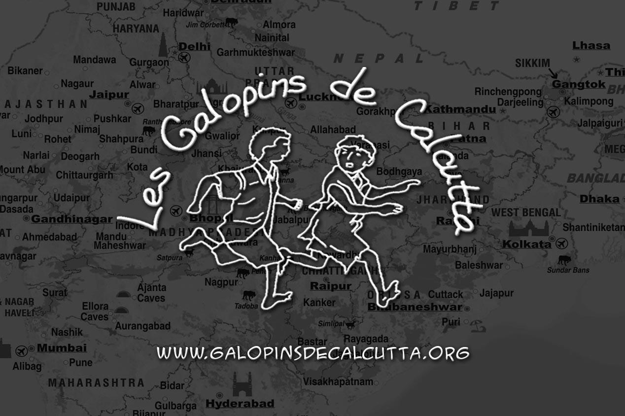 Association en Inde : Les Galopins de Calcutta