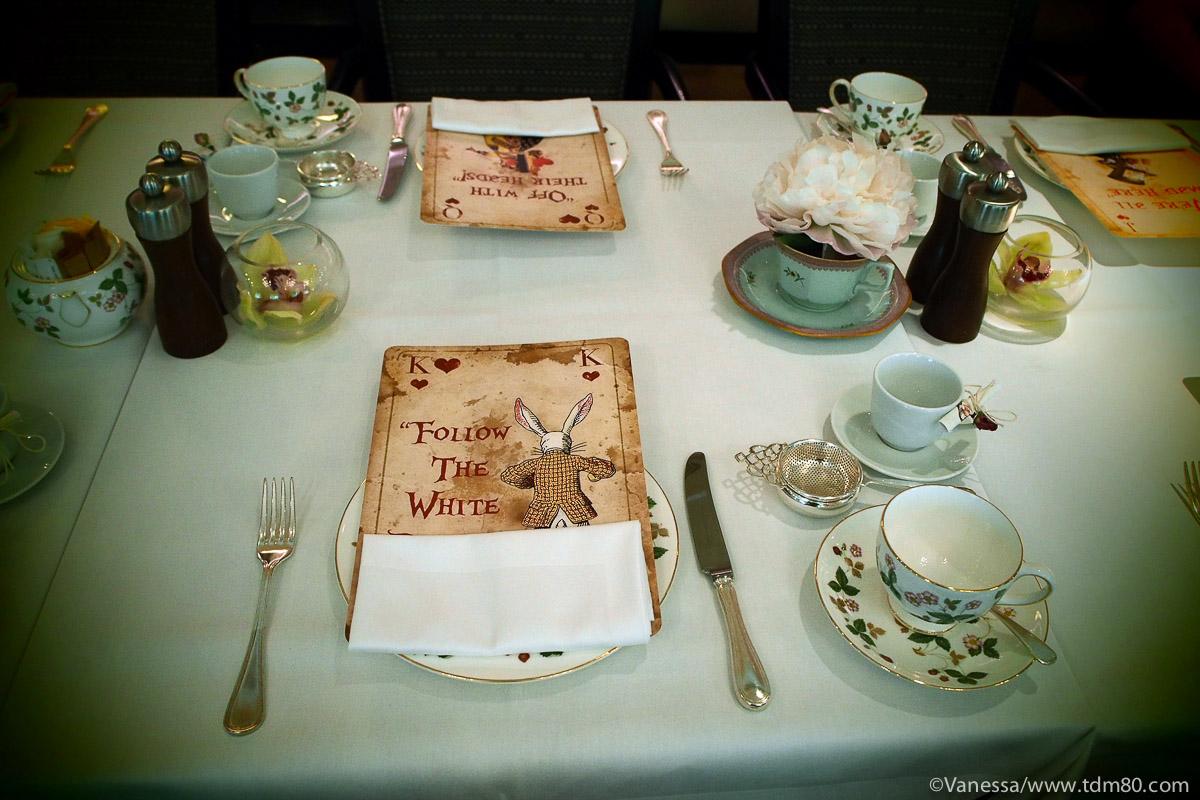 Tea time à Londres pour les 150ans d'Alice