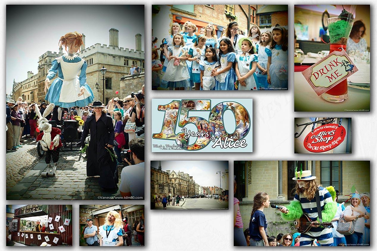 Les 150 ans d'Alice aux pays des merveilles à Oxford