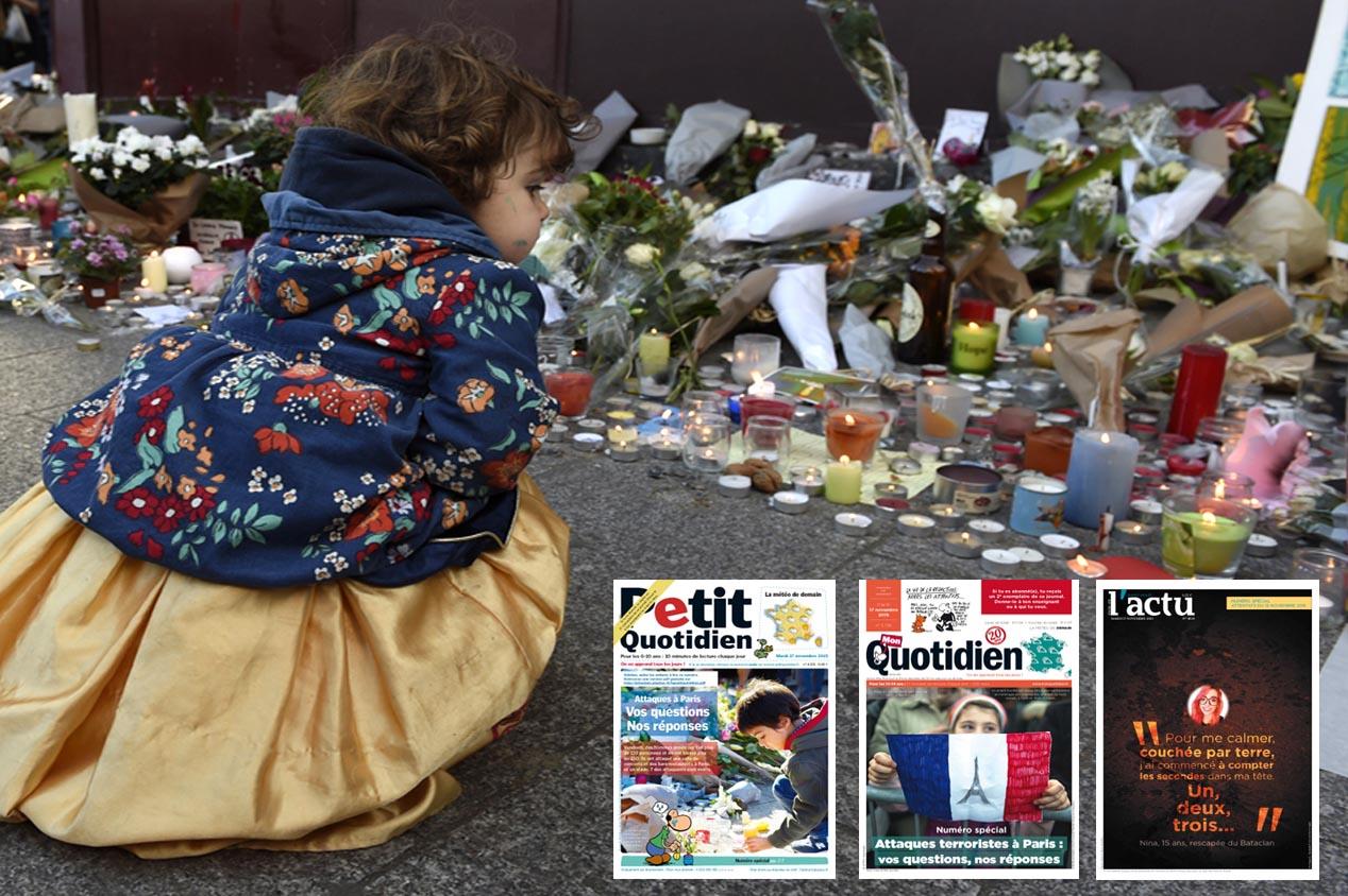 Attentats à Paris. Comment en parler à ses enfants?