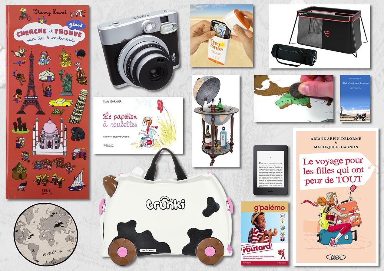 Nos idées cadeaux pour petits et grands voyageurs !