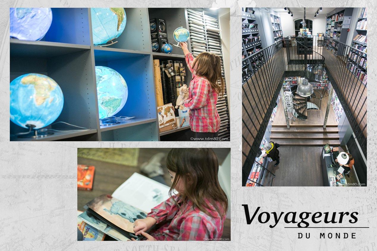 La librairie de voyage «Voyageurs du Monde»