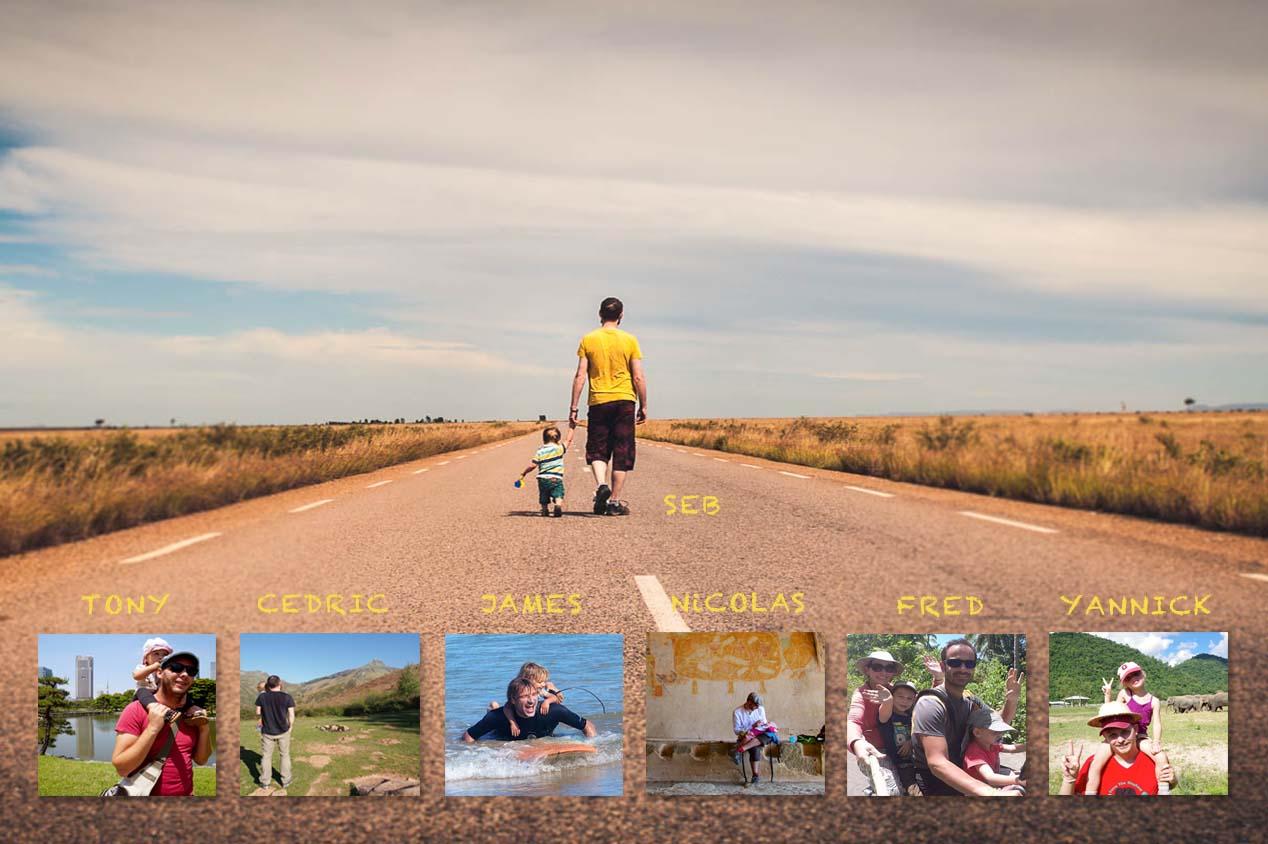 Fête des pères : portraits de papas voyageurs