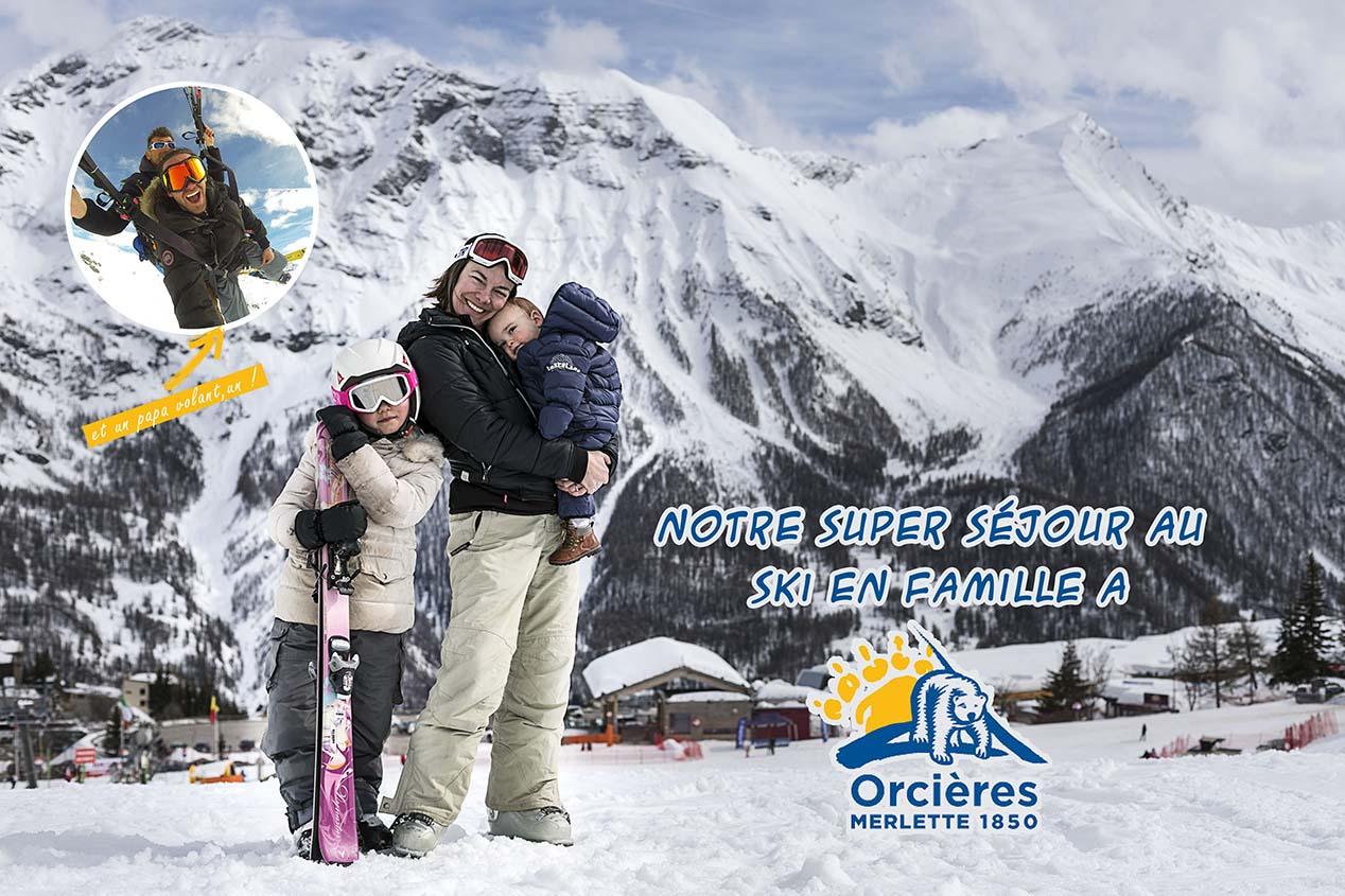 Notre super séjour au ski en famille à Orcières Merlette !
