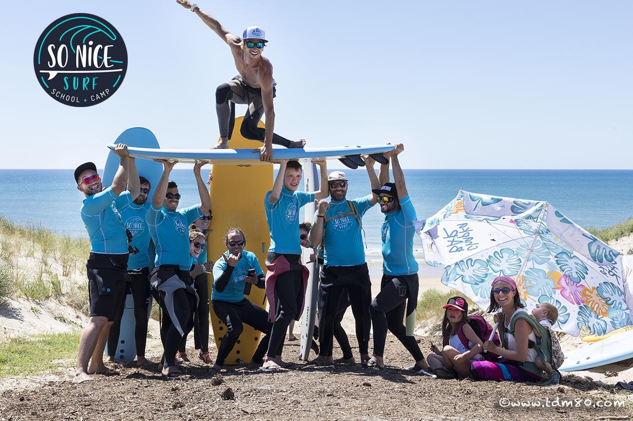 Un surf camp génial en famille ou entre amis sur la côte atlantique !