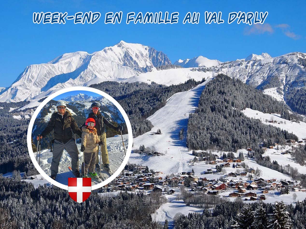 Week-end en famille au Val d'Arly