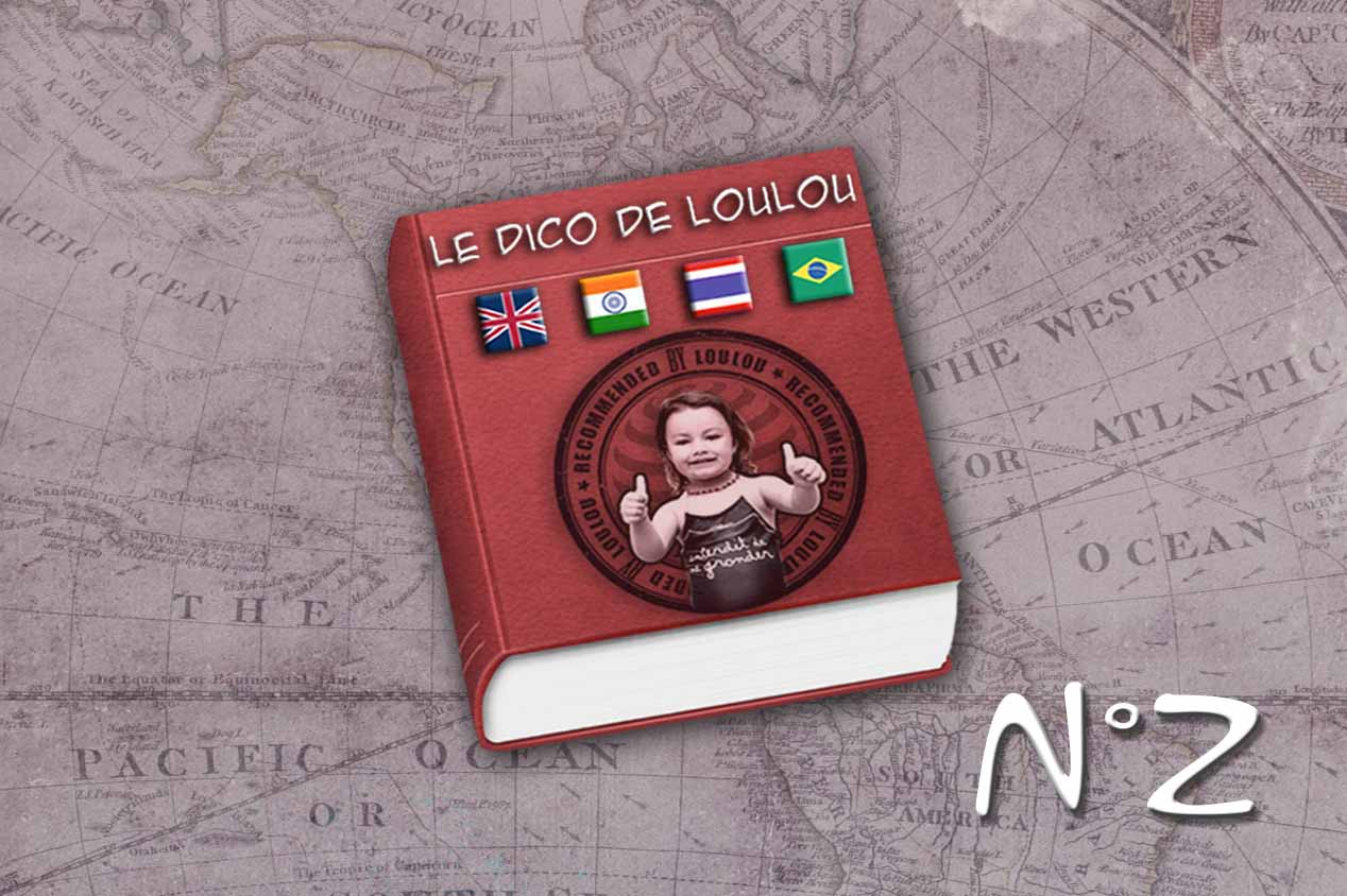 Le Dictionnaire de voyage de Loulou 2 !